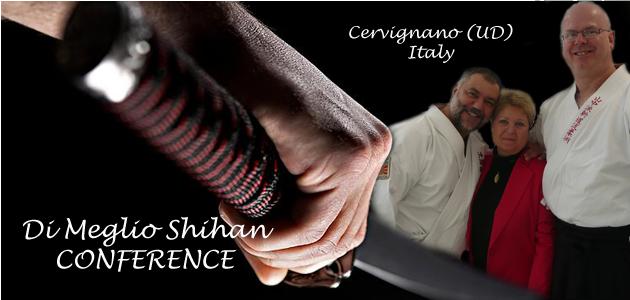 """Conferenza con G.Di Meglio Shihan: """"Budo e modernità a confronto, racconti di un'esperienza cinquantennale""""."""