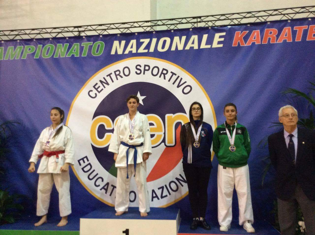 Namoini Martina oro ai Campionati Nazionali CSEN 2016