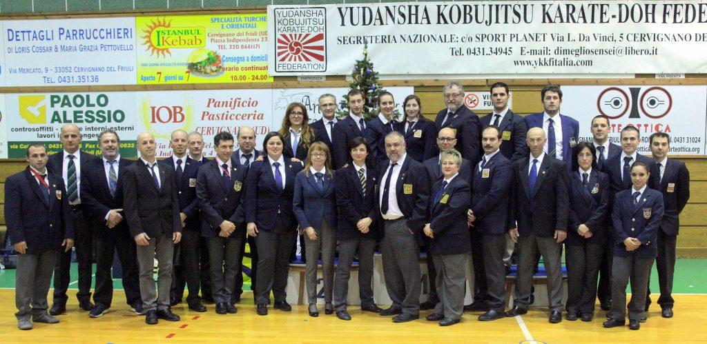 Aggiornamento mensile Arbitri e collegiale Karate sportivo CSEN/YKKF