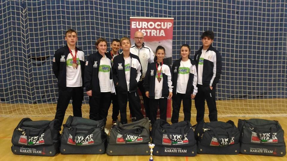 Di Meglio Karate Team – 4 medaglie a Porec (Croazia)