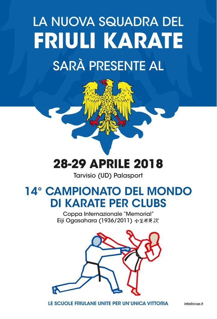 New Friuli Karate al mondiale per club