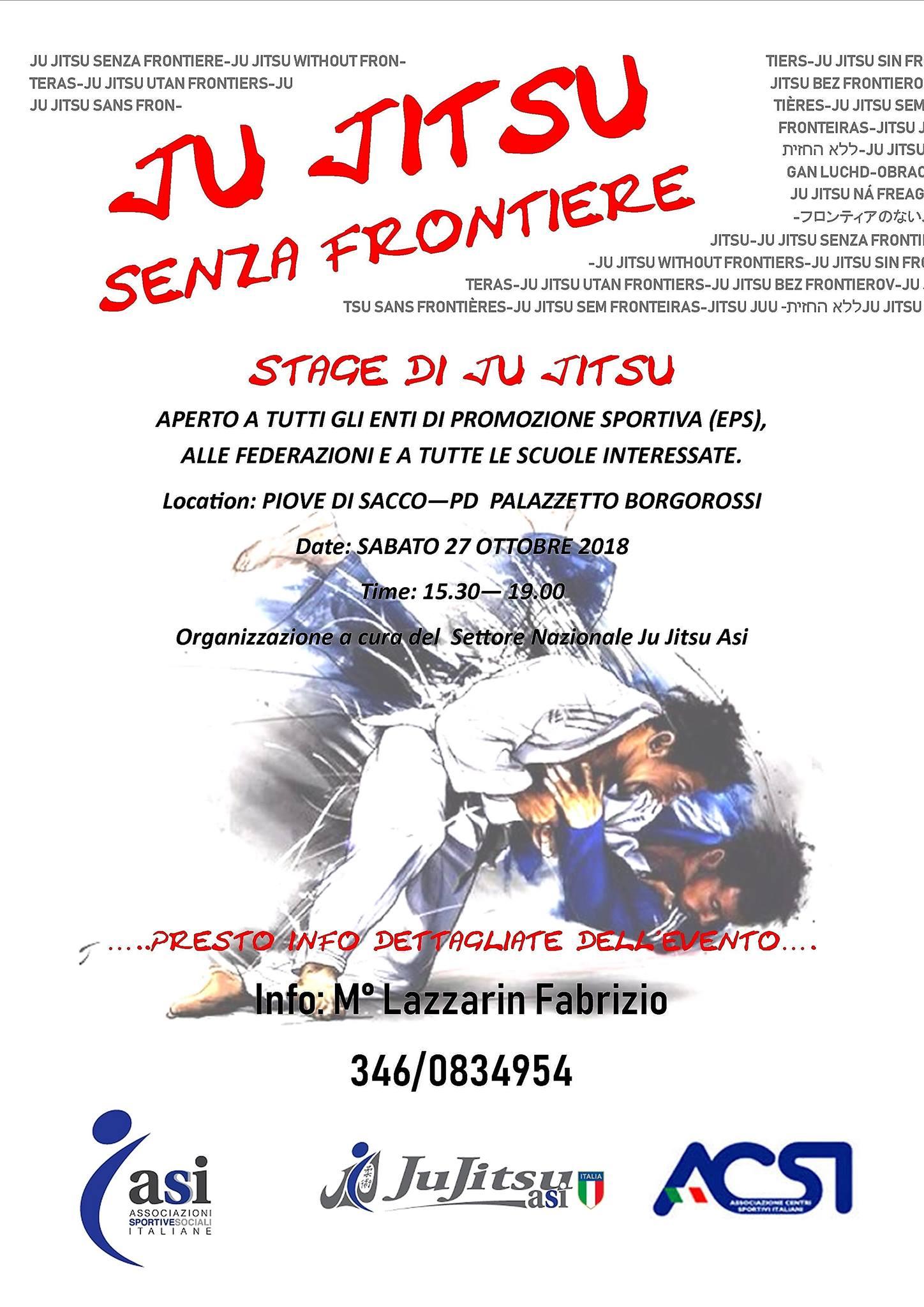 Jujitsu Senza frontiere